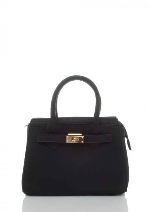 f5a0e4ab07a42 Italy klasyczna torebka kufer czarna mała ...