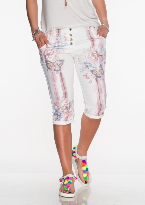 Włoskie spodnie SUMMER różowe
