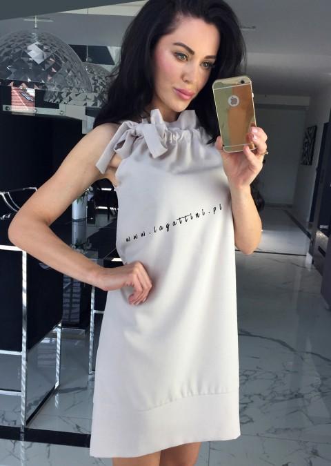Sukienka Cocomore Camilla beżowa