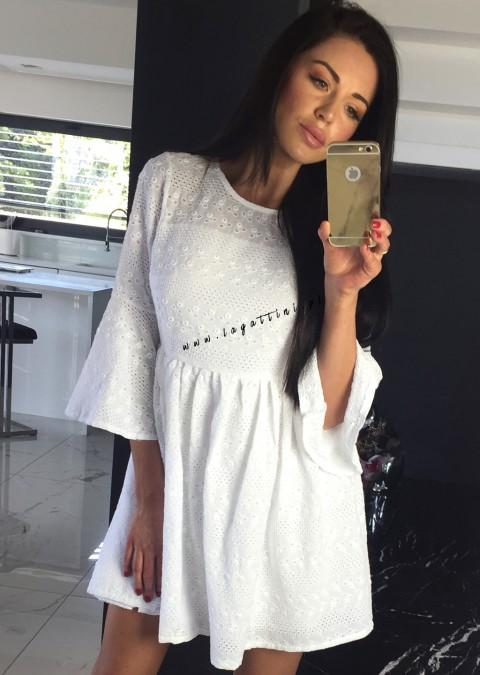 Sukienka Cocomore Elena biała