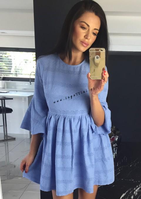 Sukienka Cocomore Elena niebieska