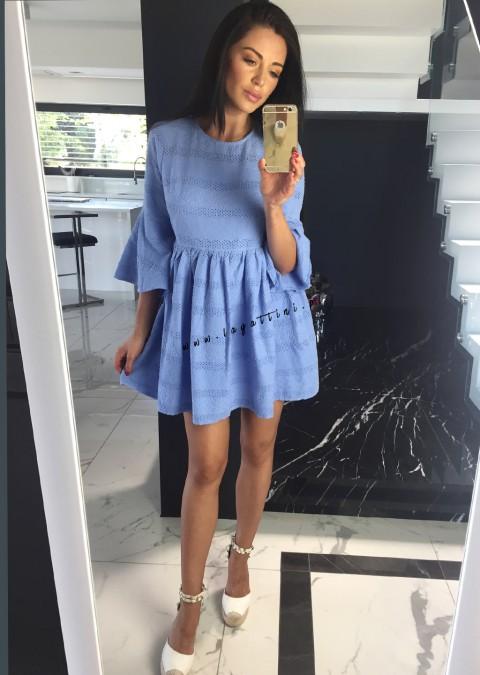 Sukienka Coco Elena szara