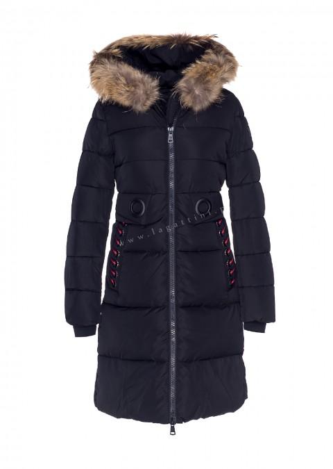38be9926c8851 Włoski płaszcz LIMITED EDITION JENOT czarny płaszcz