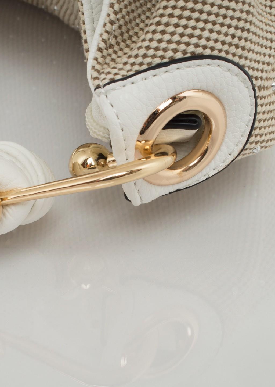 85cfc90f86e64 Italy torebka worek diamond beige - Lagattini