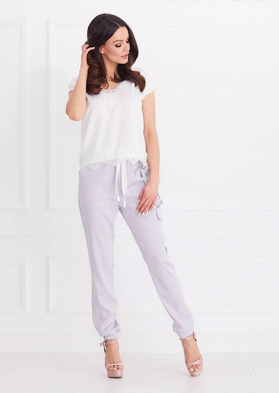 Spodnie COCO jasny szary
