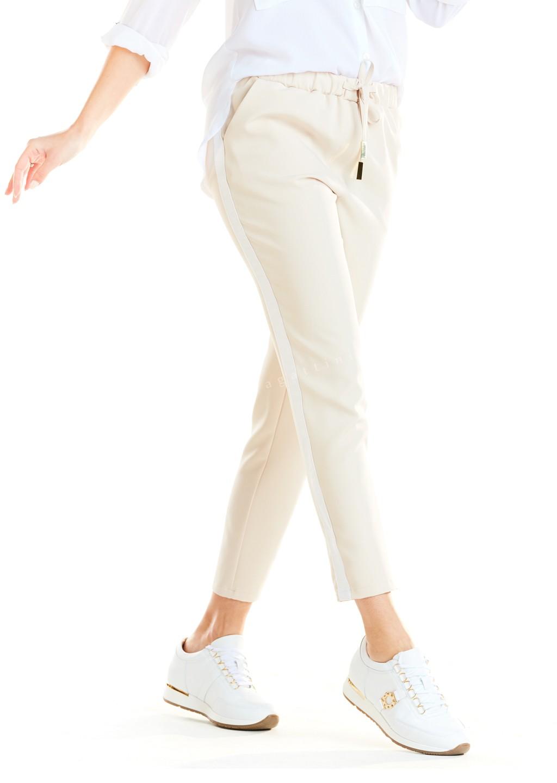 Spodnie lampas Limited Edition beżowe