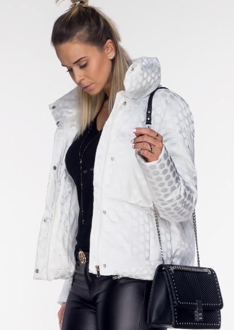 Włoska kurtka MOON LADY biała