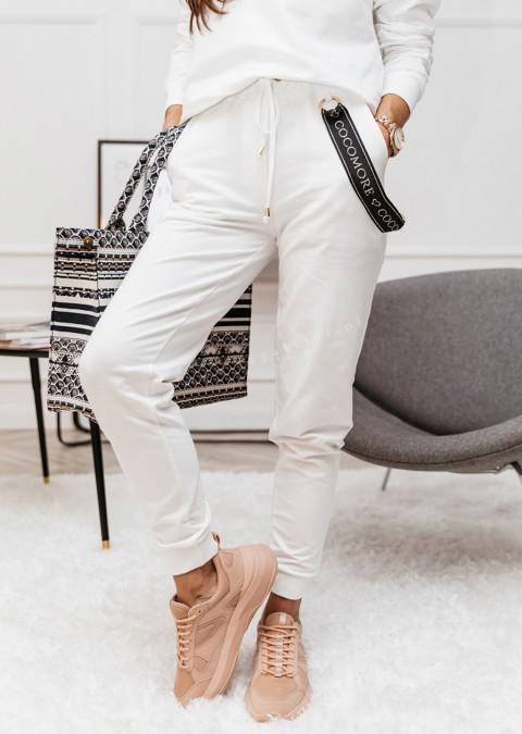 Spodnie COCOMORE Balance kremowe