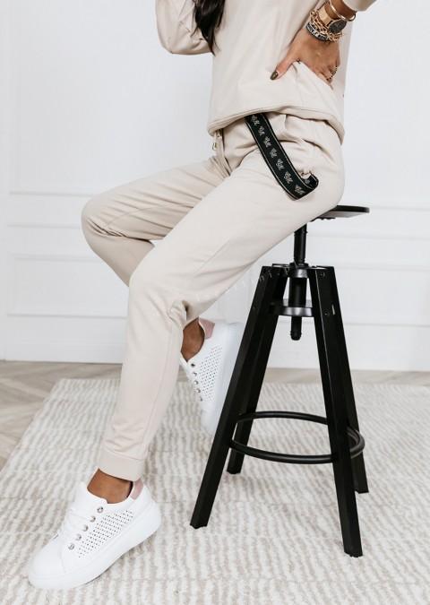 Spodnie COCOMORE Balance jasny beż