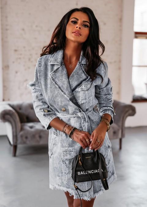 Sukienka BROOKLYN O'la Voga jasny jeans