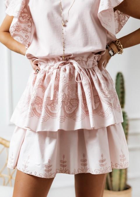 Spódnica COCOMORE Marianna pudrowy róż