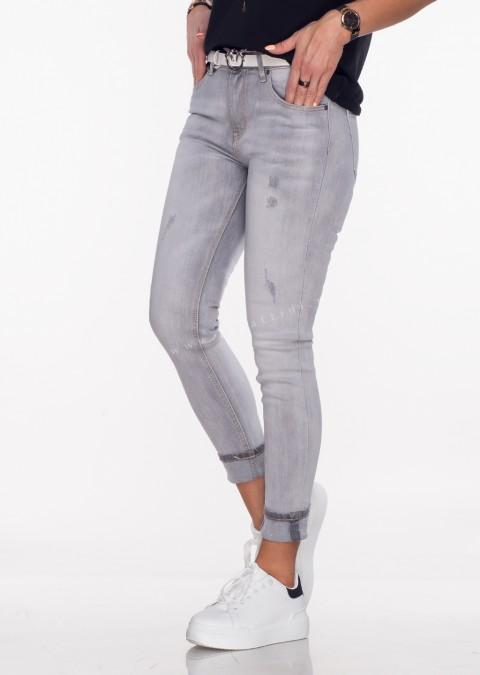 Włoskie jeansy Paul Classic gray