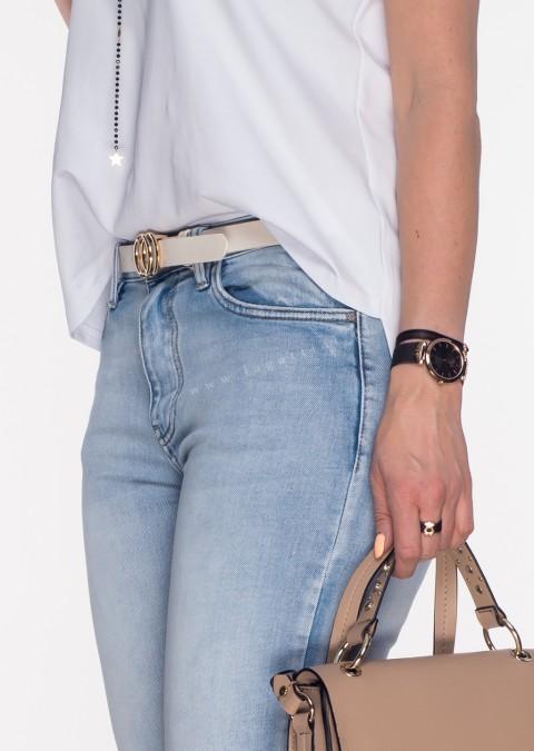 Włoskie jeansy CLASSIC JEANS jasny jeans