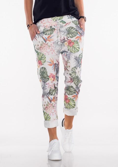 Włoskie spodnie BAGGY colorful