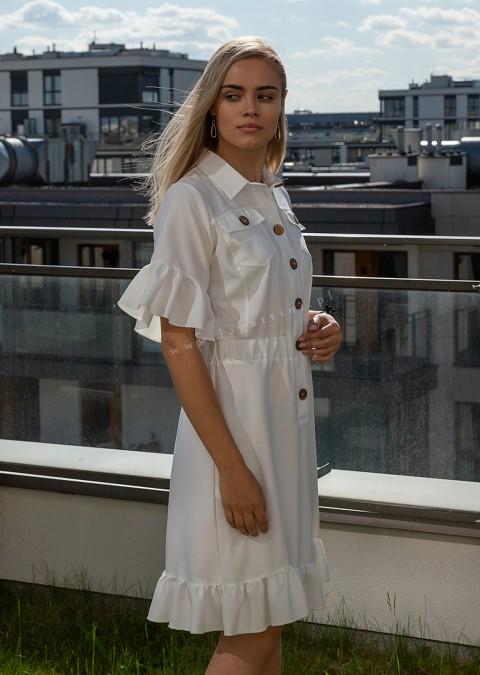 Sukienka COCOMORE VIBES biała