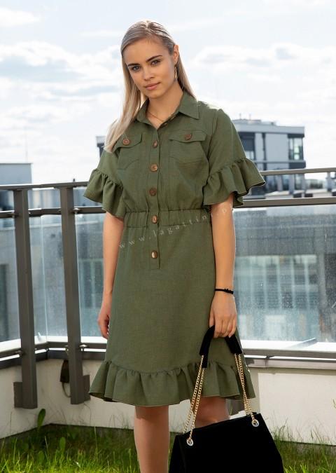 Sukienka COCOMORE VIBES szara