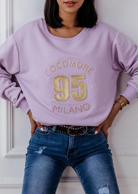 Bluza Cocomore 95 Milano fioletowa