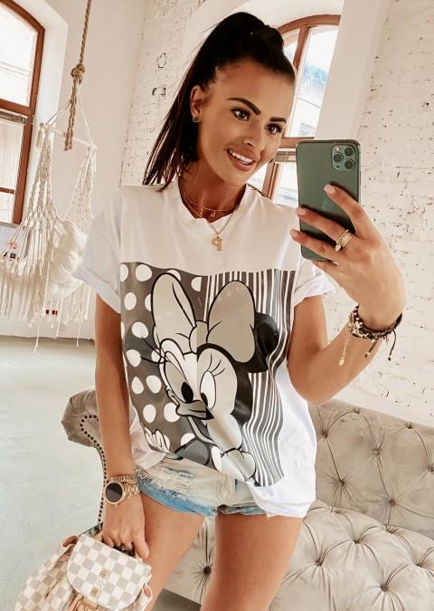 T-shirt M&D O'la Voga biały