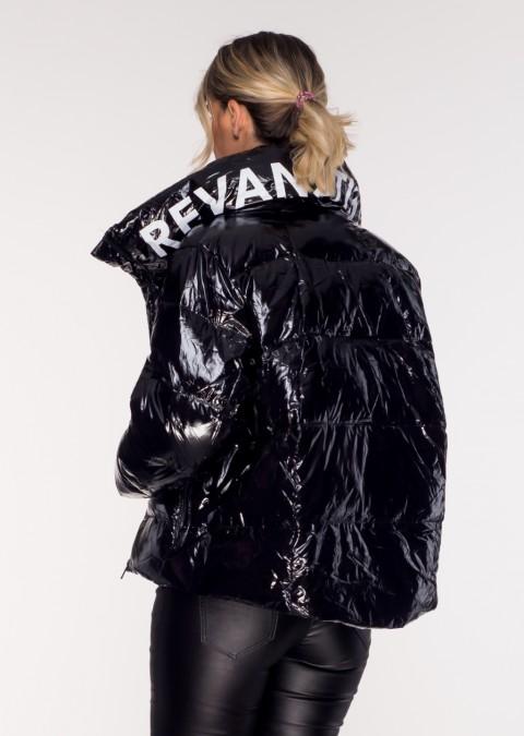 Pikowana kurtka REVAN STUDIO czarna
