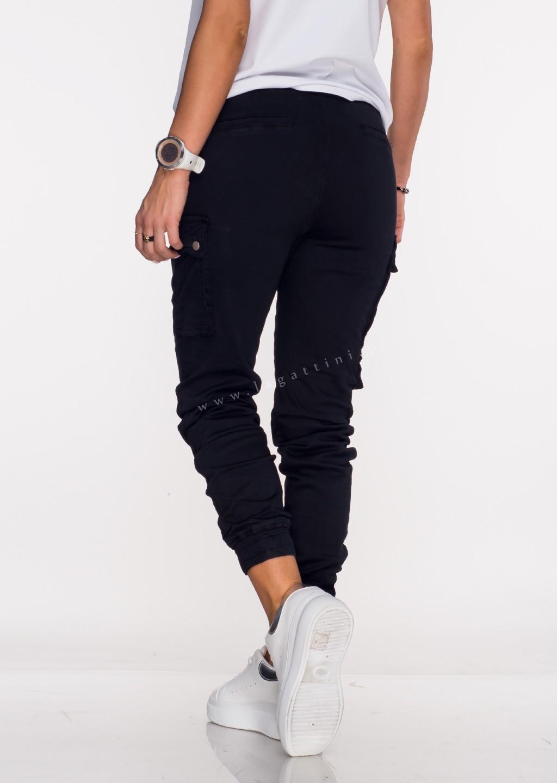 Włoskie jeansy BAGGY LIMITED + pasek czarne