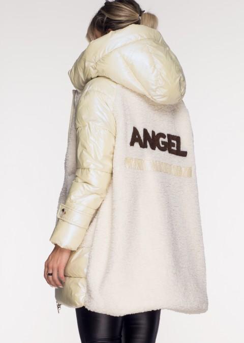 Włoski płaszczyk ANGEL panna cotta