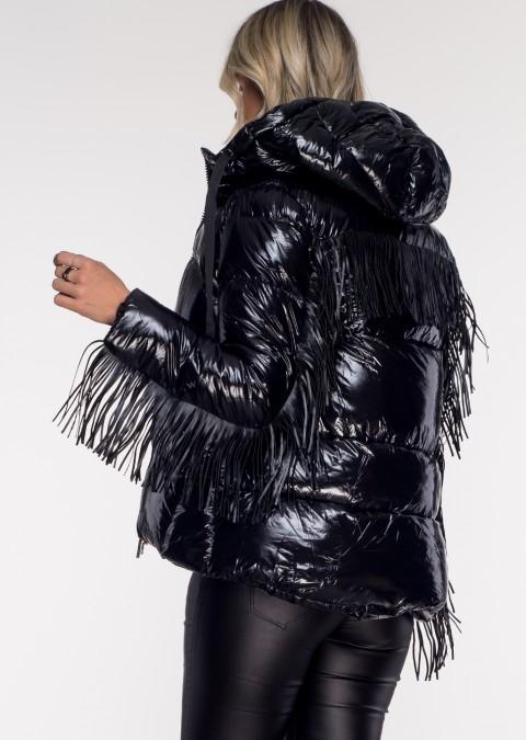 Włoska kurtka PORTO seria limitowana czarna
