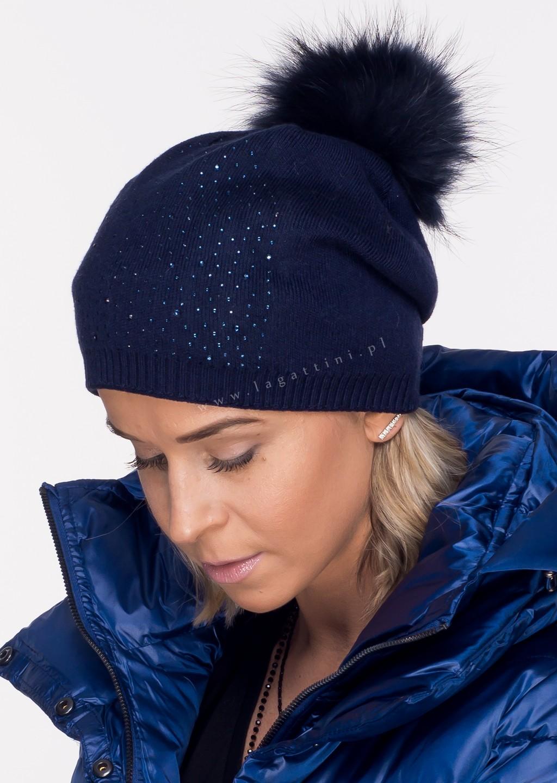 Włoska czapka PREMIUM LIMITED zdobienia khaki