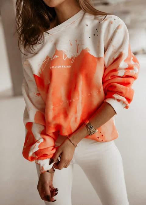 Bluza O'la Voga NEON COLOR pomarańczowy