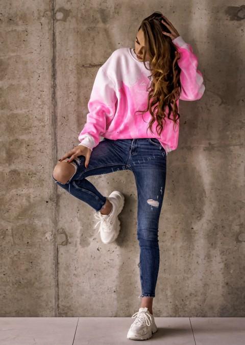 Bluza O'la Voga NEON COLOR różowy
