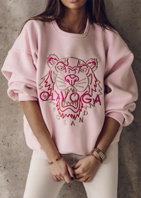 Bluza O'la Voga TIGER różowa