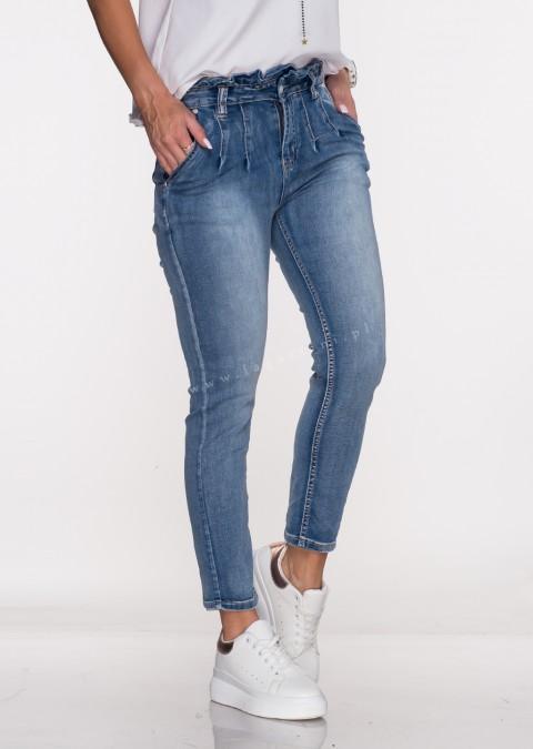 Włoskie jeansy MARITY blue jeans 599