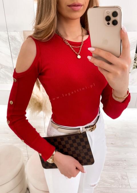 Bluzka BONELLI czerwona