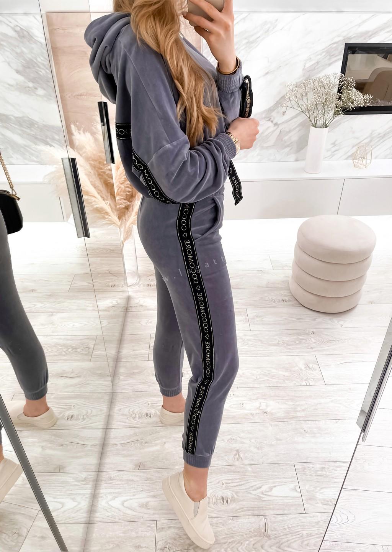 Spodnie Cocomore Line fioletowe
