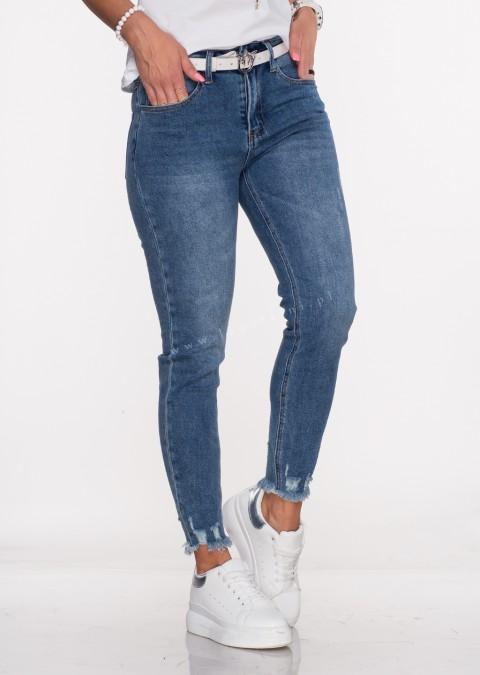 Włoskie jeansy NANETTI blue jeans