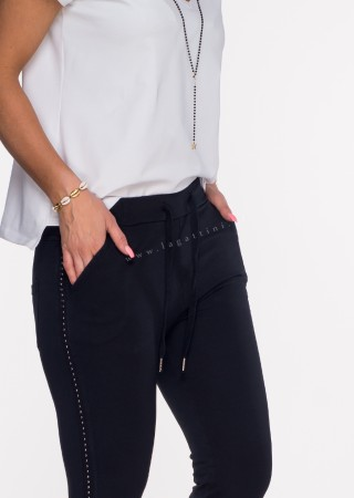 Włoskie spodnie dresowe TORELLO khaki