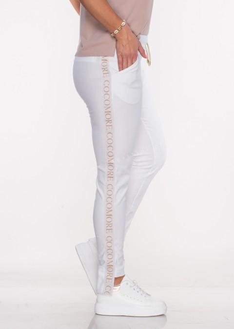 Spodnie dresowe COCOMORE białe