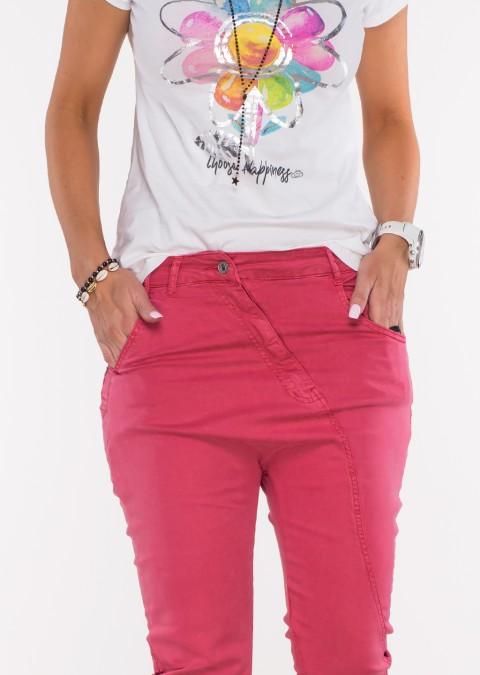 Włoskie jeansy BAGGY MORELLI ciemny jeans
