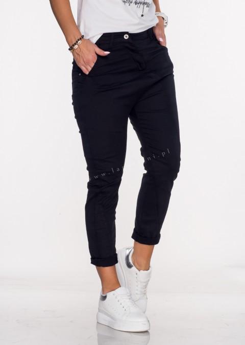 Włoskie jeansy BAGGY MORELLI czarny