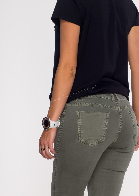 Włoskie dwustronne spodnie CLASSIC/PANTHER beżowe