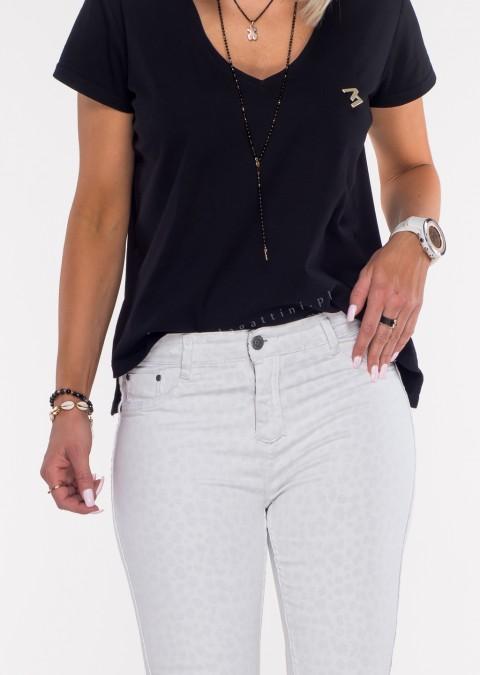 Włoskie dwustronne spodnie CLASSIC/PANTHER białe