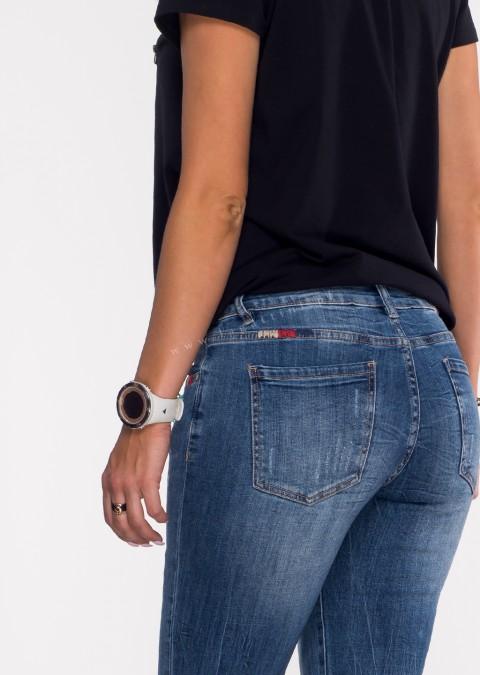 Włoskie jeansy BRIZZI denim