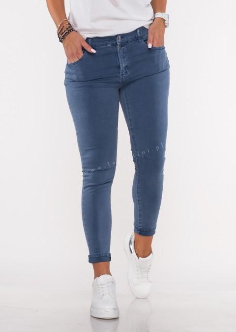 Włoskie jeansy FRASCATI 2 guziki denim /16