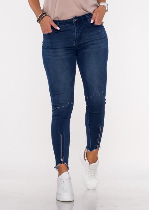 Jeansy MERGO slim fit blue jeans
