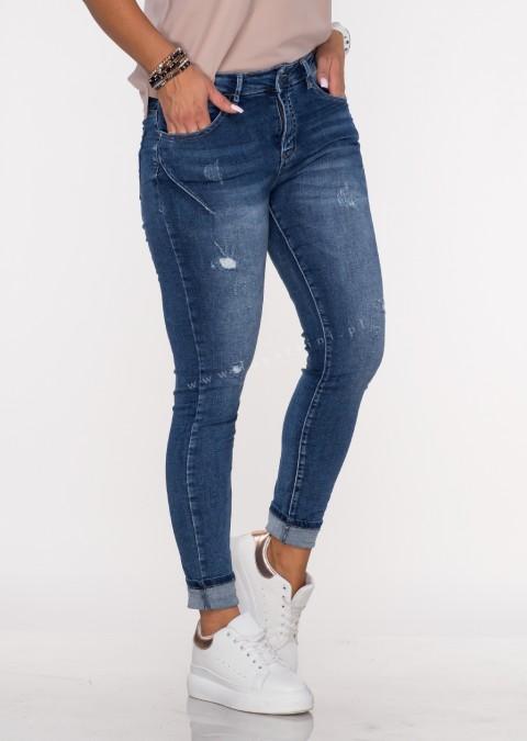 Włoskie jeansy NERITTO push up denim