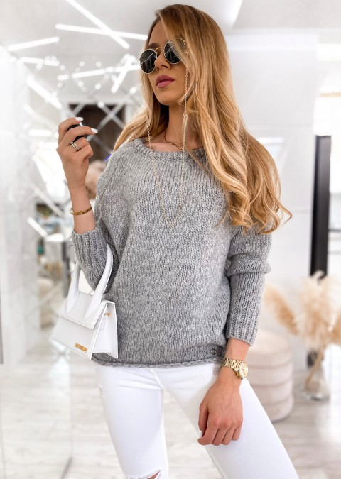 Sweter Cocomore LARA szary