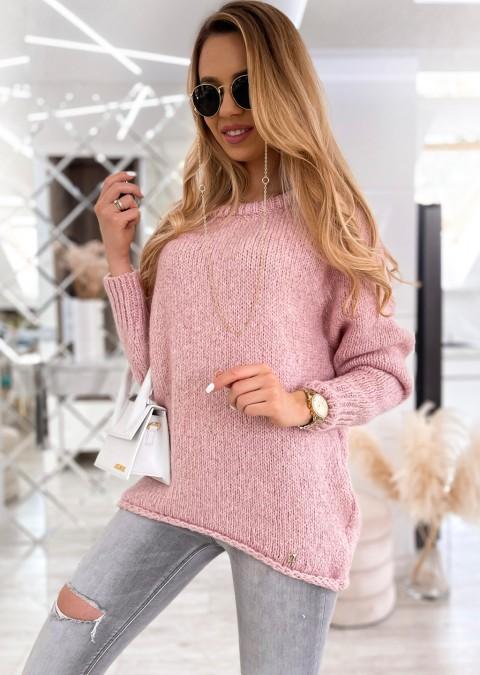 Sweter Cocomore LARA różowy