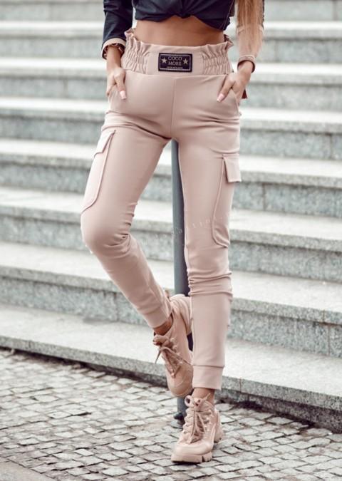 Spodnie Cocomore AFTER pudrowy róż