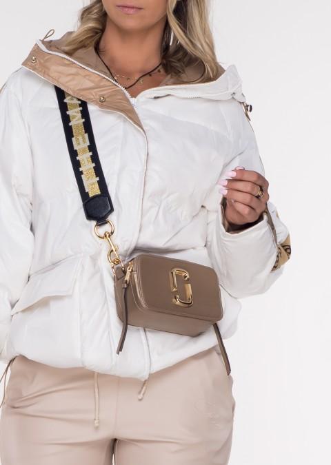 Puchowa kurtka pikowana GROSSETTO white