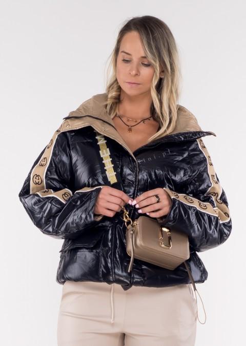 Puchowa kurtka pikowana GROSSETTO black