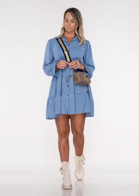 Sukienka CASTILLA PERFECT niebieska